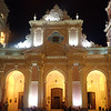 Salta bascilica cathedral. The pope gave a speech here.
