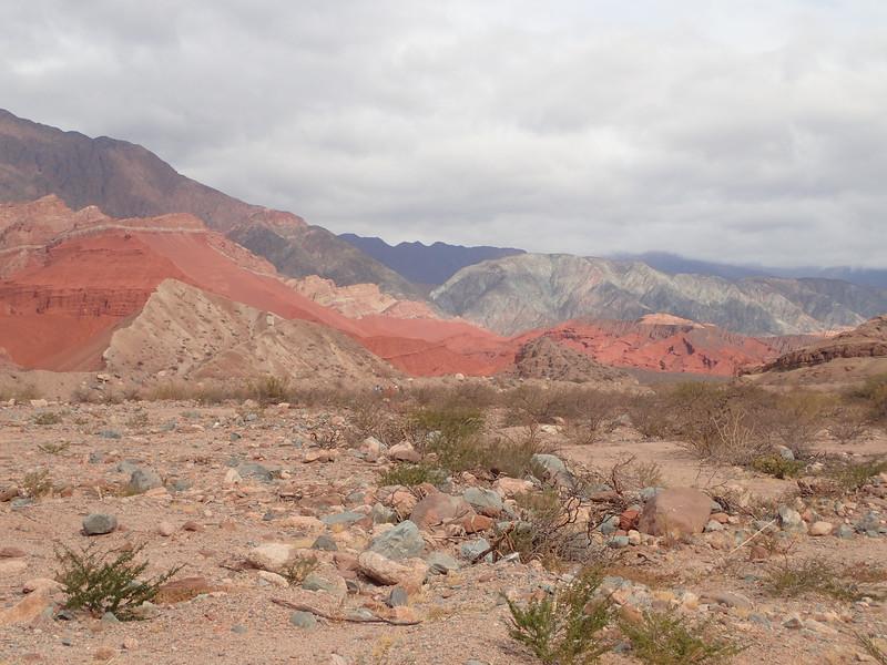 Quebrada de las Conchas. This whole area used to be a sea floor.
