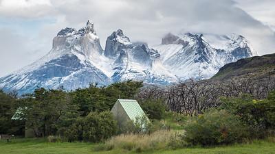 Lake Pehoe Campsite, Patagonia