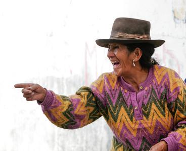 Laughing, Ayacucho, Peru, 2007