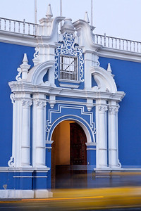 Arches on Blue I