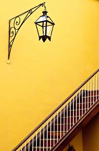 Lamp and Stairs