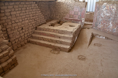 part of Huaca de la Luna, the great altar