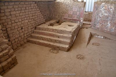 part of Huaca de la Luna, the great altar