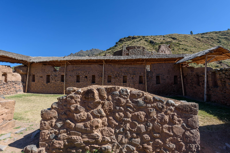 Incan Ruins at Pisac, Peru