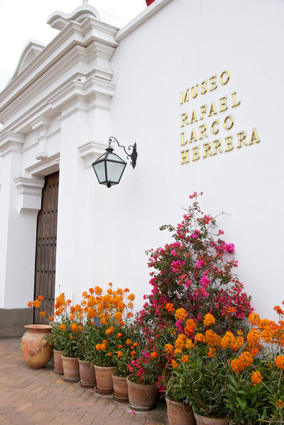 Entrance to the Museo Larco in Lima, Peru