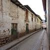 Side street in Cusco