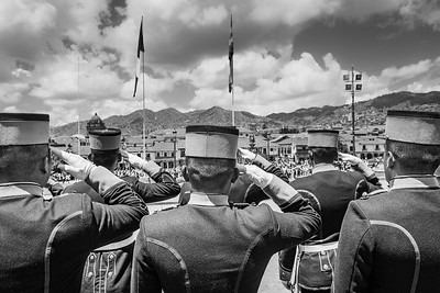Saluting Cusco