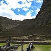 The ruins at Ollantaytambo