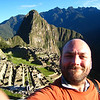 Me and Machu Picchu in the morning