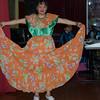 Showing Off Her Costume at the Sinumune School in Quito, Ecuador