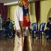 Traditional Costume at Sinumune School in Quito, Ecuador
