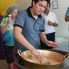 Making Ecuadorian Ice Cream in Quito, Ecuador