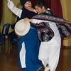 Dancing at the Sinumune School in Quito, Ecuador