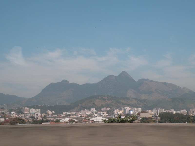 First glimpse, from the taxi from the aeropuerto.