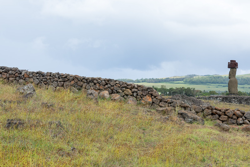 Rock Wall & Ahu Ko Te Riku