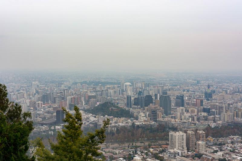 Santiago Skyline