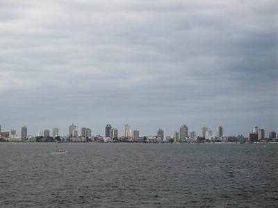 Arrival into Punta del Este, Uruguay.