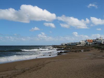 Beach of Punta del Este.