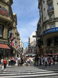 Buenos Aires Street Scene