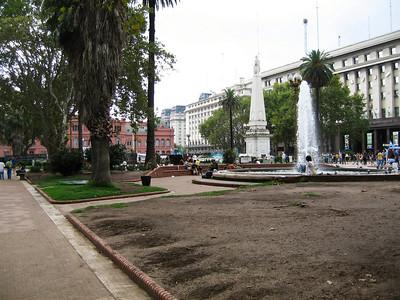 Plaza del Mayo.