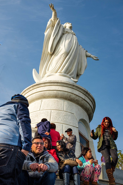 Virgin de la Immaculate Conception, San Cristobal hill