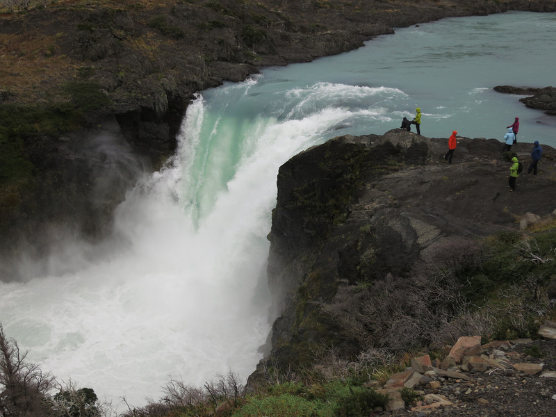 Salto Grande at Pudeto in Torres del Paine National Park