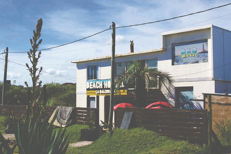 Our hostel, La Balconada. January 2017