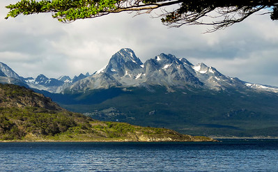 Ensenada Bay in Tierra Del Fuego National Park, Argentian