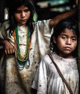 The local Kogi tribe would visit us in the evenings, they are descendants of the original Tayrona People who once inhabited the Lost City of Teyuna (Ciudad Perdida)