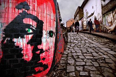 Bogota, Columbia Street Scene