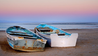 Baja Beached Boats, Mexico