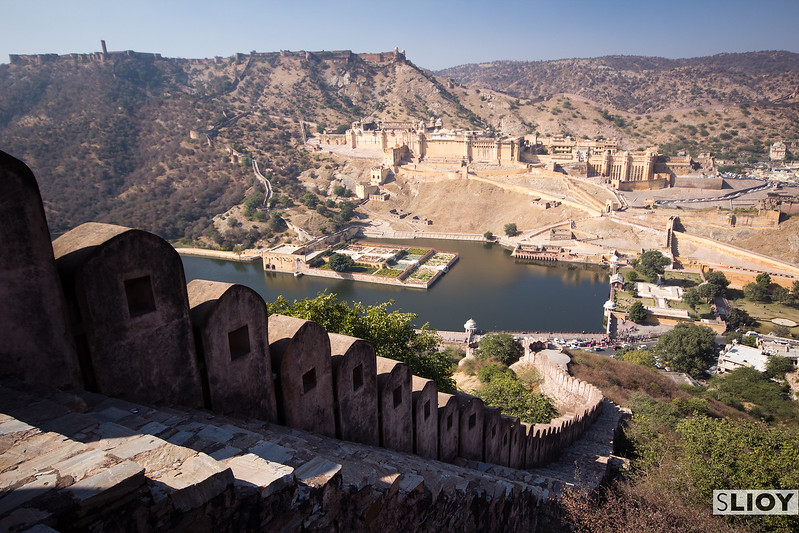 Up above the Amber Fort.