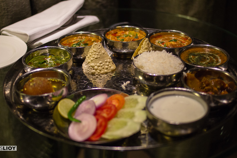 The most delicious looking thali in Delhi.