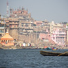 Out on the Ganges on a Varanasi afternoon.