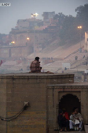 A new year dawns over the Ganges in Varanasi.