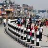 The streets of Kathmandu during a Bandar Strike.