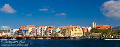 Colourful buildings of Willemstad, Curacao