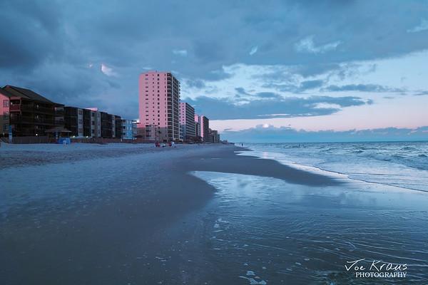 Beach Sunset in Hyperclor