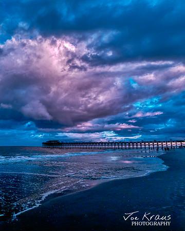 Hypercolor Sunset at Garden City Pier III