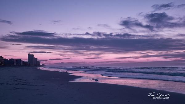 Purple Skies - Sunrise in Hypercolor