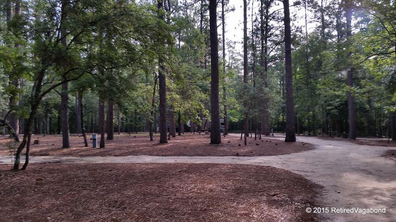 Aiken Campground - Pretty deserted