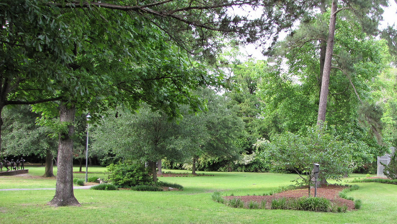 Summerville, SC - Azalea Park with Sculptures - May 10, 2010