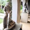 St. Francis of the Curbs, Ethel Painter Hood (1908-1982), Aluminum, 1945 - Brookgreen Gardens, Murrells Inlet, SC  3-25-11