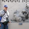 Randal Loves The Bears - Brookgreen Gardens, Murrells Inlet, SC  3-25-11<br /> That's why he gives good bear hugs.