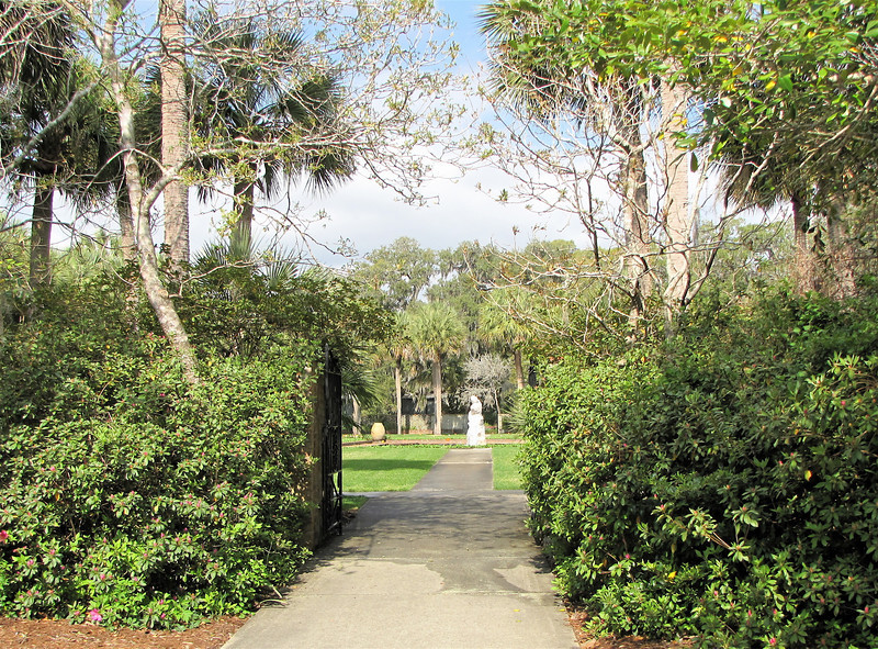 Garden Gates and Paths Entwine to Present a Feeling of Having Left Earth - Brookgreen Gardens, Murrells Inlet, SC  3-25-11