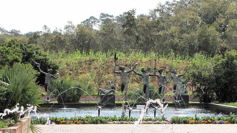 Sculpture and Fountain - Brookgreen Gardens, Murrells Inlet, SC  3-25-11