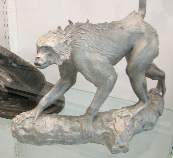 Rhesus Monkey, Anna Hyatt Huntington - Brookgreen Gardens, Murrells Inlet, SC  3-25-11