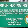 Signage - Dungannon Heritage Preserve - Charleston, SC Area