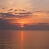 Sunrise On The Atlantic Ocean - Compass Cove Resort - Myrtle Beach, SC  3-26-11
